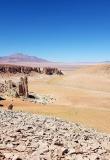 Région d'Atacama au Chili. Désert d'Atacama, Vallée de la Lune.