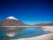 Laguna Verde, Bolivie Chili. Garanties bynativ