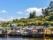 Maisons sur pilotis, Ile de Chiloé, Chili. Culture au Chili, statues de l'Ile de Paques