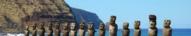 15 Moaïs à Ahu Tongariki, Ile de Paques, Chili
