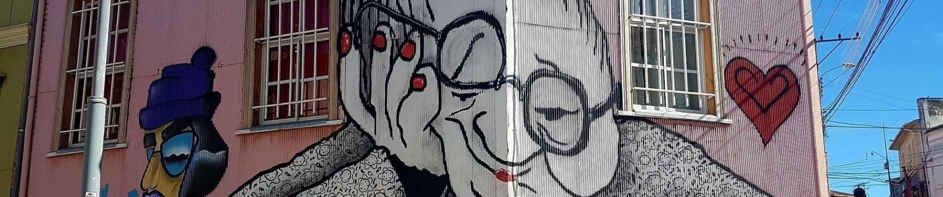 Voyage de noce au Chili : découvrez Valparaiso et son fabuleux street art
