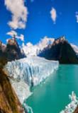 Glacier, Perito Moreno, Chili, Patagonie