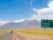 route vers le désert d'Atacama, Chili