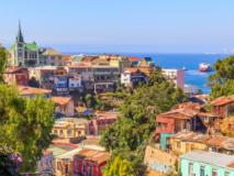 Vue sur la ville de Valparaiso