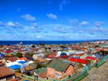 Vue sur Punta Arenas
