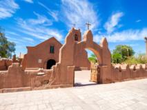 Eglise de San Pedro de Atacama, Chili