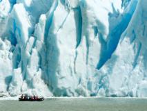Excursion au glacier Serrano, Chili