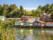 Maisons colorées sur pilotis, Chiloé