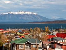 Vue sur Puerto Natales, Chili