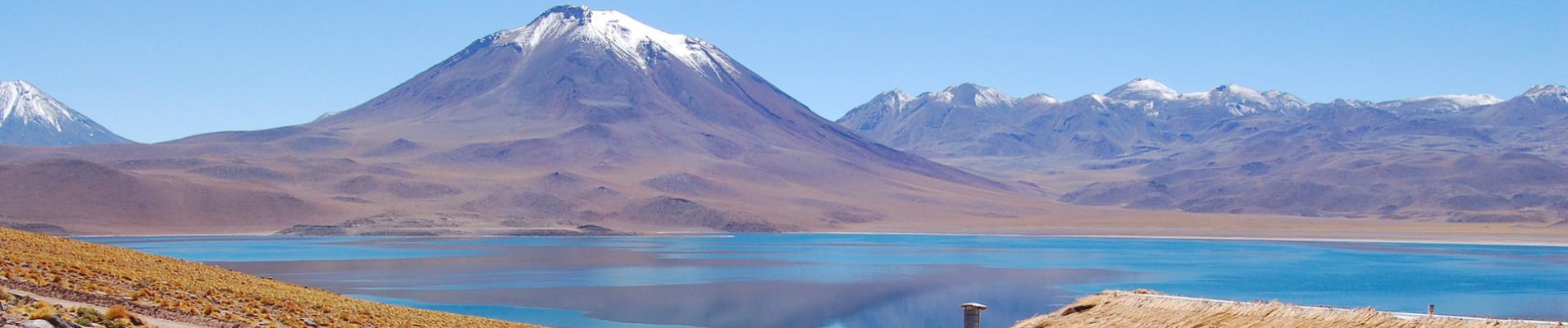 Lagoon Miscanti, Atacama, Chili